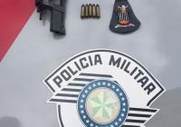 PORTE ILEGAL DE ARMA / AMEAÇA - ESTUÁRIO
