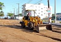 Iniciada a reurbanização da Rua Cunha Moreira